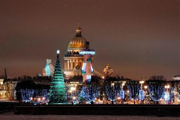 Рождество в Петербурге.