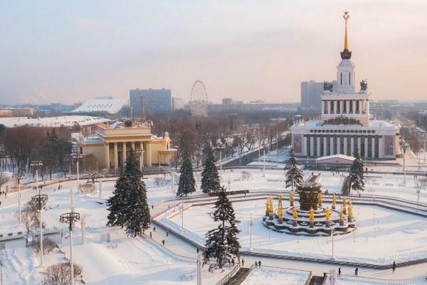 Зима 2021 в Москве.
