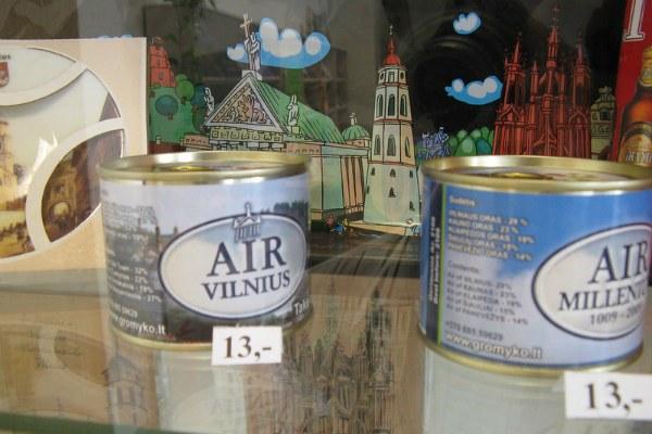 Сувениры из Вильнюса.