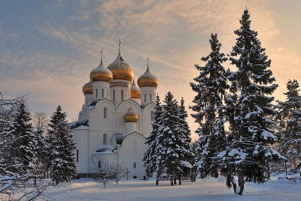 Зима 2020 в Ярославле.