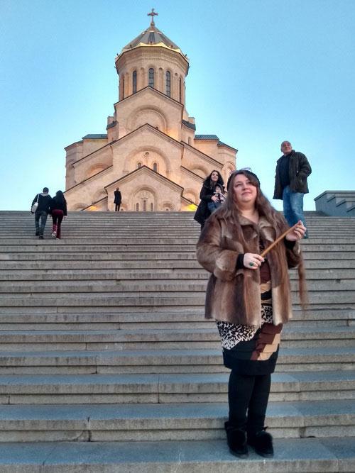 Новый год в Тбилиси.
