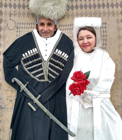 Красивая грузинская свадьба.