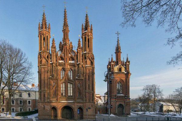 Вильнюс в феврале 2020.