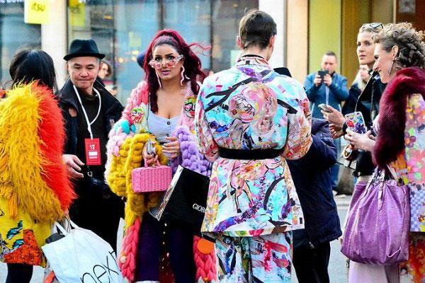London Fashion Week 2021.