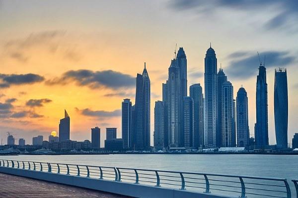 Зима 2020 в Дубае.