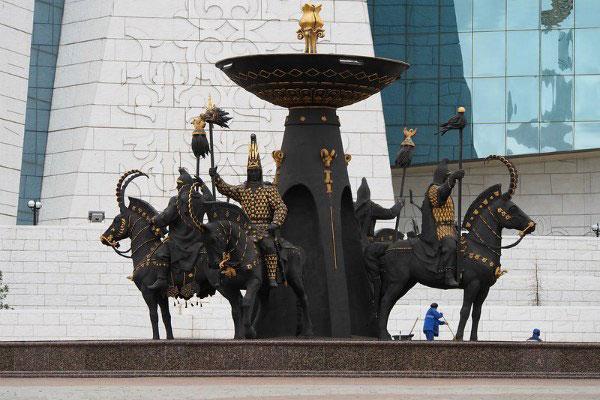 Музей в Нур-Султане.