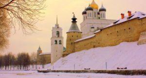 Снежный Псков.