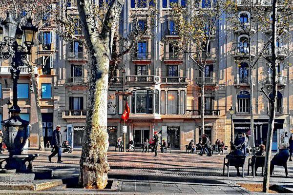 Улица Рамбла.