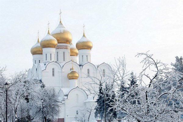 Зимний Ярославль.
