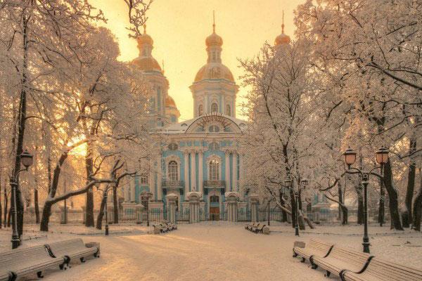 Зима 2021 в Петербурге.
