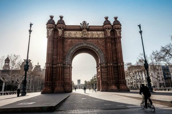 Весенняя Барселона 2020.