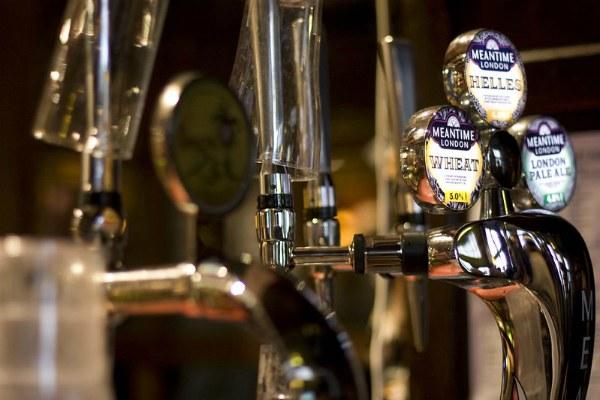Пиво в Британии.