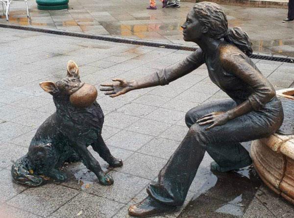 Скульптуры Будапешта.