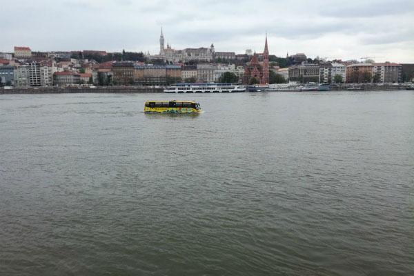 Набережная Дуная.