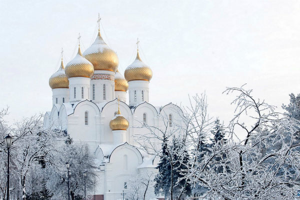 Зимний Ярославль 2021.