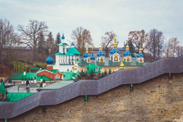 Крепости Пскова.