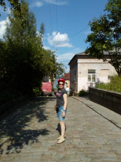 Улица Выборга.