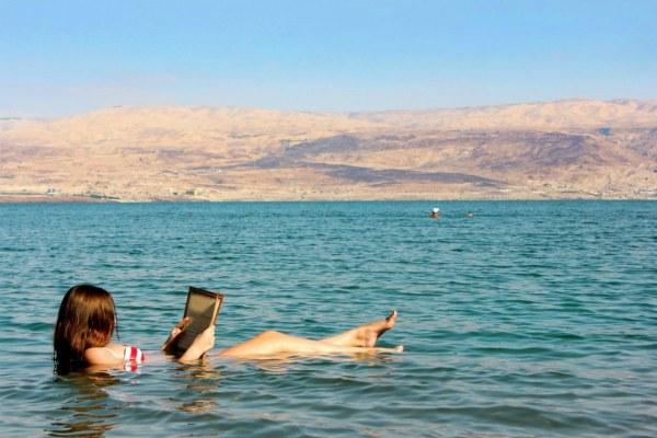Отдых на Мёртвом море.