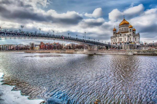 Весенняя Москва 2020.