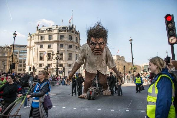 Парад в Лондоне.