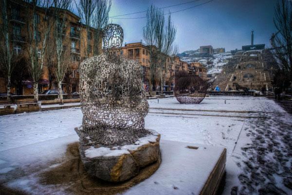 Каникулы в Ереване.