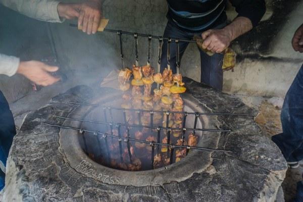 Армянский шашлык.
