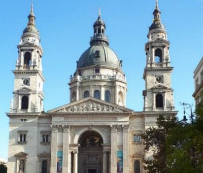 Собор Святого Стефана в ноябре.
