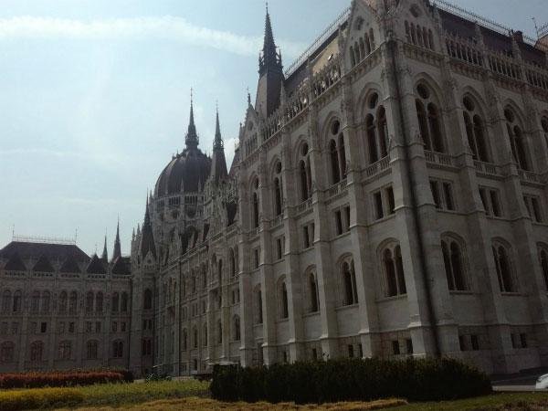 Парламент в Будапеште.
