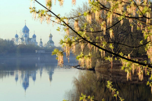 Весенняя погода. Москва в апреле 2020.