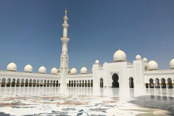 Мечеть Шейха Зайда.