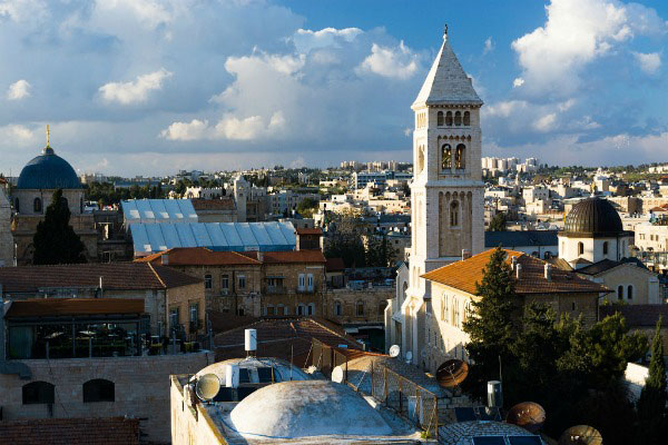 Весна 2021 в Иерусалиме.