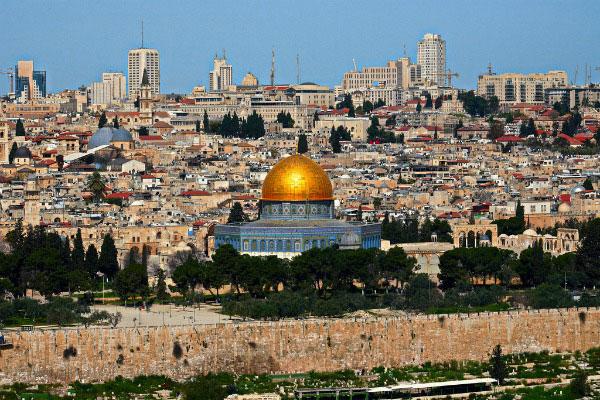 Весна в Иерусалиме.