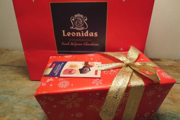 Шоколад Leonidas.