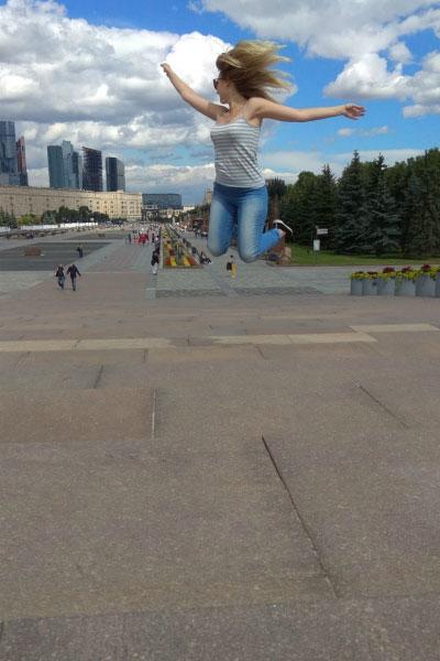 В Парке Победы.