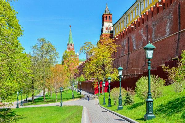 Александровский сад.