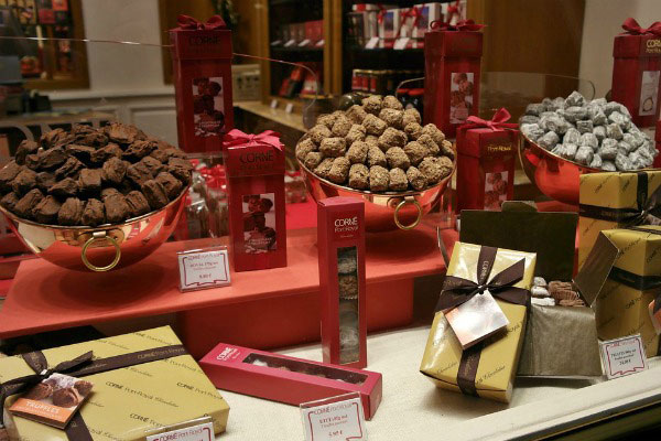 Бельгийский шоколад.