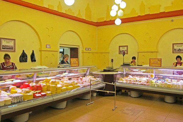 Магазин «Сырная биржа».