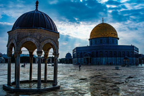 Весенний Иерусалим.
