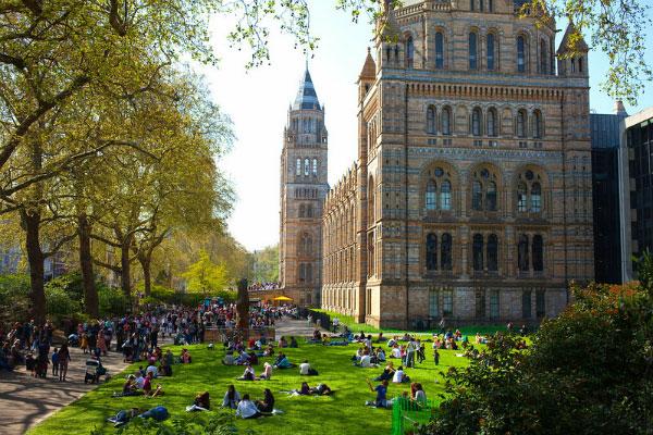 Весна 2020 в Лондоне.