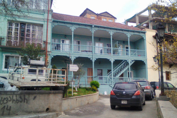 Грузинский балкон.