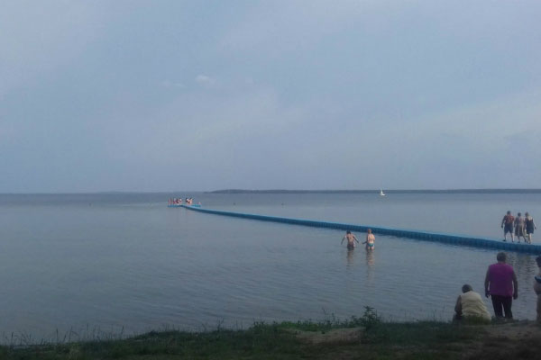 Море в Белоруссии.