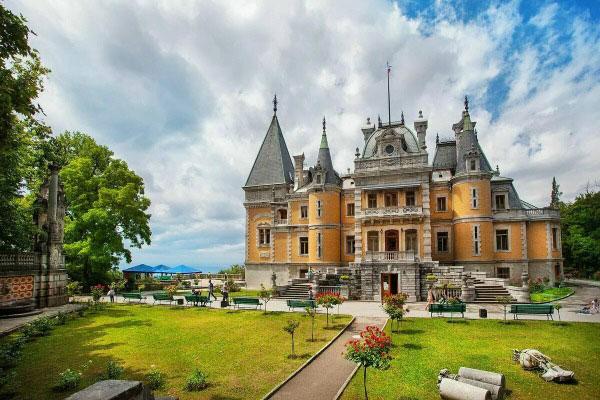 Дворцы Крыма.