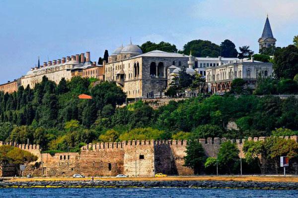 Стамбул отрассвета дозаката.
