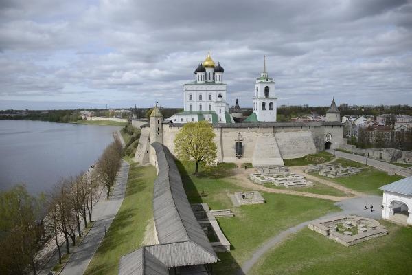 Весенний Кремль.