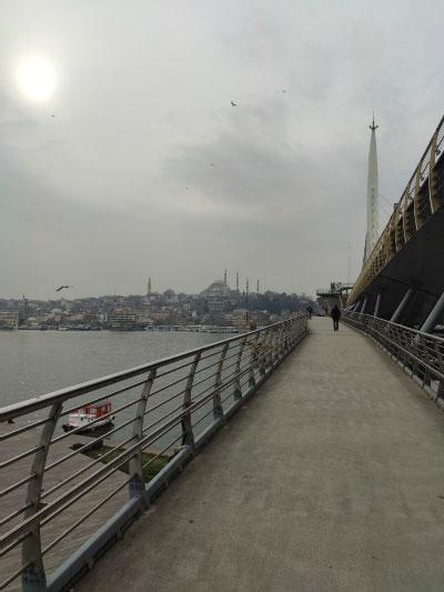 Прогулочный мост.