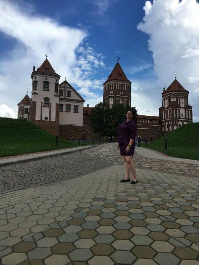 Парк у Мирского замка.