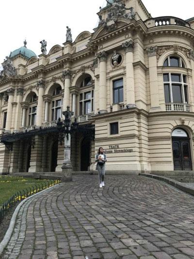 Театр в Кракове.