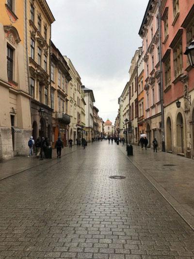 Прогулка по Кракову.
