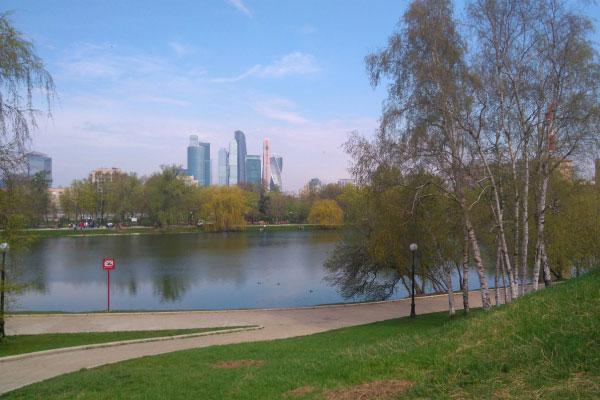 Новодевичий парк.