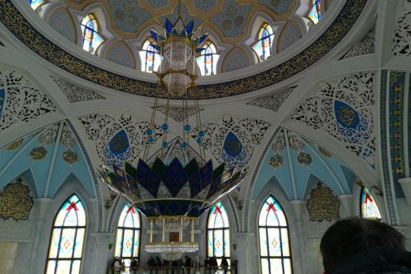 Мечеть Кул-Шариф внутри.